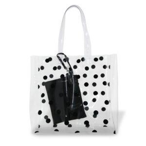 Transparent Bag Com Necessaire
