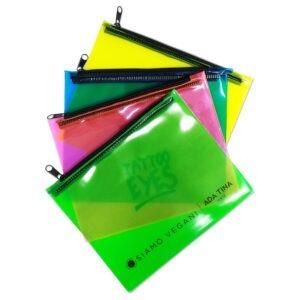 Porta Documentos em PVC Colorido